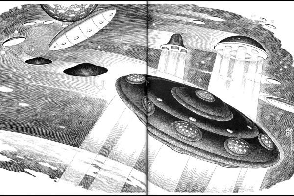 SPACE TRAVEL Saucers