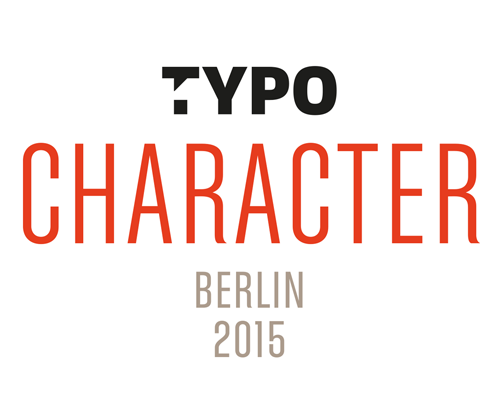 TYPO Berlin 2015 Character